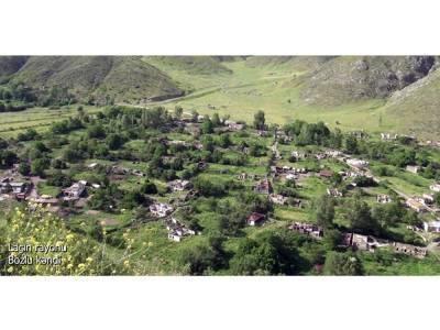 Освобожденное село Бозлу Лачинского района (ВИДЕО)