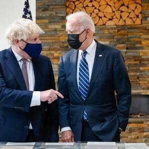 Байден и Джонсон обновили Атлантическую хартию