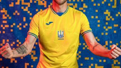 Украинская ассоциация футбола утвердила статус лозунгов с формы сборной