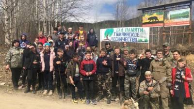 В Хабаровском крае высадили 12 тысяч деревьев в рамках акции «Сад памяти»