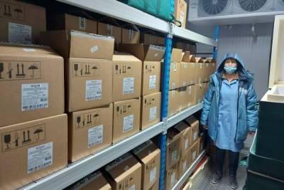 Петербург получил еще почти 40 тысяч доз вакцины от коронавируса