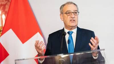 Президент Швейцарии выразил надежду на встречу с Путиным на саммите РФ-США