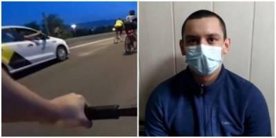 Обстрелявший велосипедистов пассажир раскрыл подробности конфликта