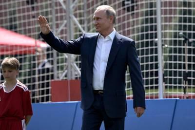 Путин не приедет на стартовый матч сборной России против Бельгии на Евро