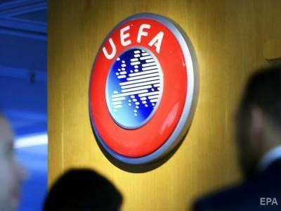 """В УЕФА заявили, что попросили прикрыть надпись """"Героям слава!"""" на форме сборной Украины – футболки будут проверять перед каждой игрой"""