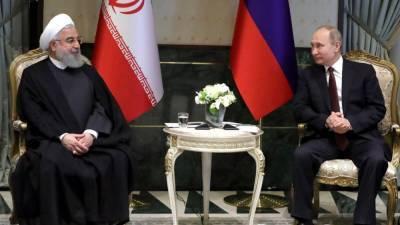 Путин назвал вбросом сообщения о передаче Ирану спутниковых технологий