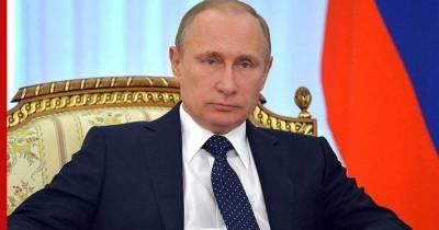 Путин назвал вбросом информацию о передаче Ирану российского спутника