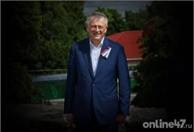 Александр Дрозденко поздравил жителей Ленинградской области с Днем России