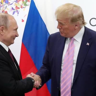 Владимир Путин назвал бывшего главу Белого дома Дональда Трампа ярким и незаурядным человеком