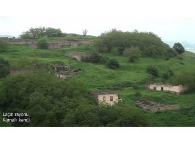 Освобожденное село Кямаллы Лачинского района (ВИДЕО)
