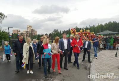 Фестиваль творчества, посвященный Дню России, открылся во Всеволожске — фото и видео