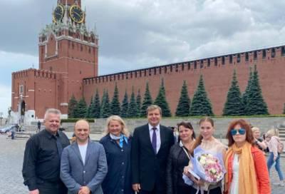 Экология, федеральные программы и выборы: ленинградские журналисты посетили Госдуму