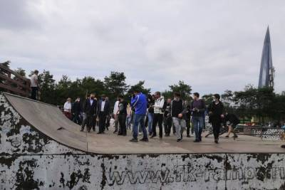 Вместо сноса скейт-парку в Петербурге пообещали ремонт