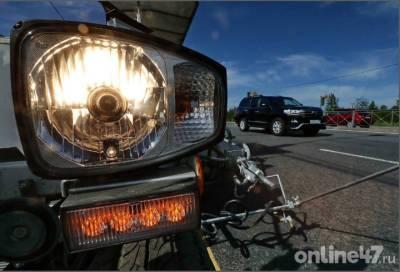 На участках восьми трасс в Ленобласти ограничат скорость 13 июня