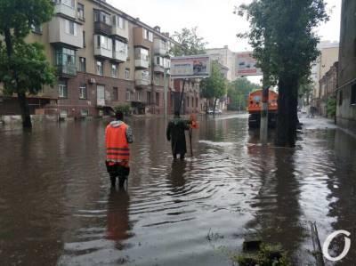 Одессу накрыл залповый ливень: каким улицам не повезло