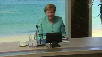 Предстоящая встреча президентов РФ и США обсуждалась во время переговоров Джо Байдена и Ангелы Меркель