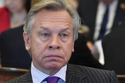 Пушков оценил отказ Байдена от совместной пресс-конференции с Путиным
