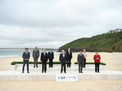 Лидеры G7 на саммите в Великобритании поспорили из-за Китая – СМИ