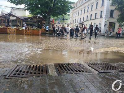 В Одессе привели в порядок дороги после затопления 12 июня