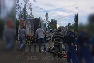 Стало известно о пострадавших после аварии с автобусом в Подпорожье