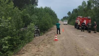 В результате аварии с экскурсионным автобусом в Ленобласти пострадали 10 человек