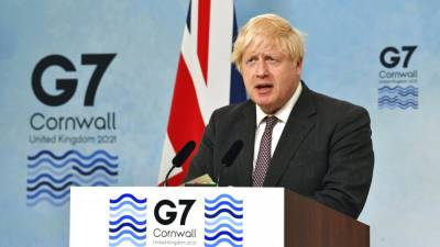 G7 выделит миллиард доз вакцины бедным странам