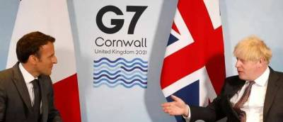 """Джонсон возмутился словам Макрона, что Северная Ирландия """"не входит"""" в состав Британии – СМИ"""