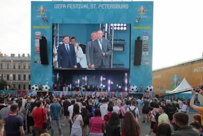 Болельщиков в петербургских фан-зонах Евро-2020 оставят без еды