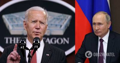 Байден объяснил отказ от пресс-конференции с Путиным