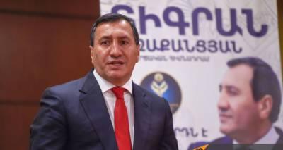 Кандидат в премьеры от Демпартии подал в суд на Центризбирком Армении