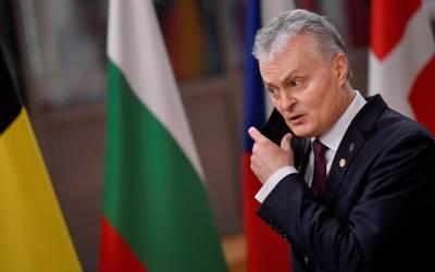 Президент Литвы: Белоруссия теряет признаки независимости и становится угрозой