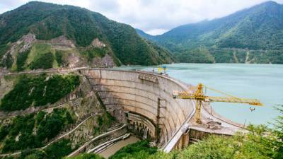 На Ингурской ГЭС произошла авария