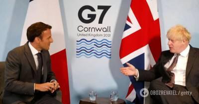 Макрона усомнился, что Северная Ирландия входит в состав Британии: Джонсон возмутился – СМИ