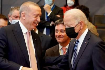 Началась встреча между президентами Турции и США