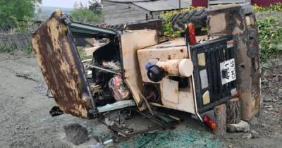 Погрузчик раздавил водителя в ДТП на Сахалине