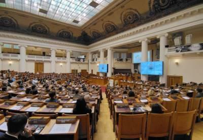 Беглов посетил конференцию GLEX в Петербурге и выступил там с речью