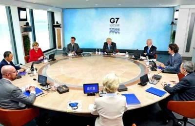 Пушков: на встрече лидеров G7 был принят «манифест» объединенного Запада в отношении России и Китая