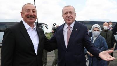 Эрдоган и Алиев подписали союзнический договор в Карабахе