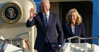 Байден вылетел в Женеву на встречу с Путиным (ВИДЕО)