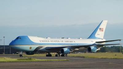 Самолет Байдена приземлился в Женеве перед встречей с Путиным