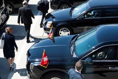 Байден прибыл на место встречи с Путиным