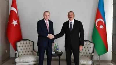Алиев и Эрдоган подписали декларацию о партнерстве