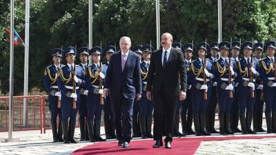 МИД Армении осудил визит Алиева и Эрдогана в Шуши