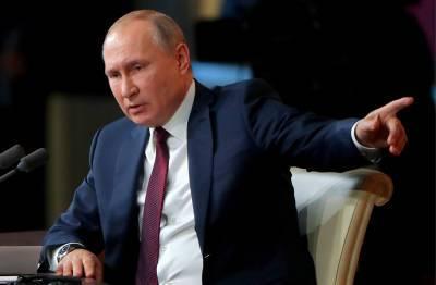 Bloomberg: Путин проведет пресс-конференцию раньше Байдена