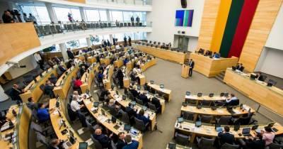 Сейм Литвы принял резолюцию, которой требует от РФ компенсации за советскую оккупацию