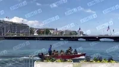 Снайперы в Женеве заняли позиции перед встречей Путина и Байдена
