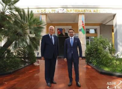 Сотрудничество между АЗЕРТАДЖ и Анатолийским агентством переходит на новую плоскость