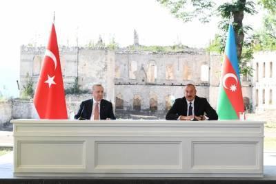 Президент Ильхам Алиев: Заявления, которые прозвучат сегодня отсюда - из нашего древнего города Шуша - отзовутся во всем мире