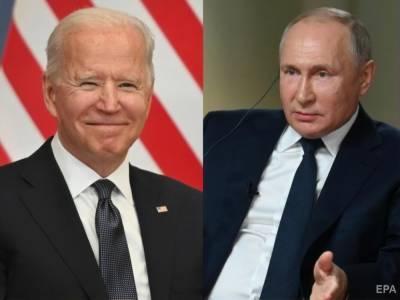 Встреча Путина и Байдена. Белый дом назвал темы разговора