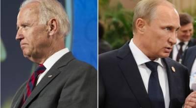 Стало известно время начала встречи Путина с Байденом